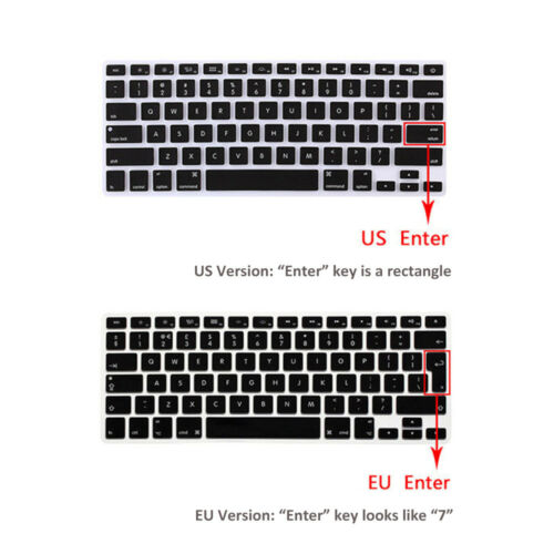 Laptop Silicone Keyboard Protector Skin Cover for MacBook Air 13 Inch 2018 A1932