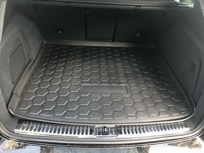 Trunk Cargo Tray Boot Floor Protection from Dirt Snow All Weather All Season Waterproof Water-Resistant 3D Laser Measured Custom FIT Liner MAT for Ford Explorer 2011-2019 SUV Black MUD
