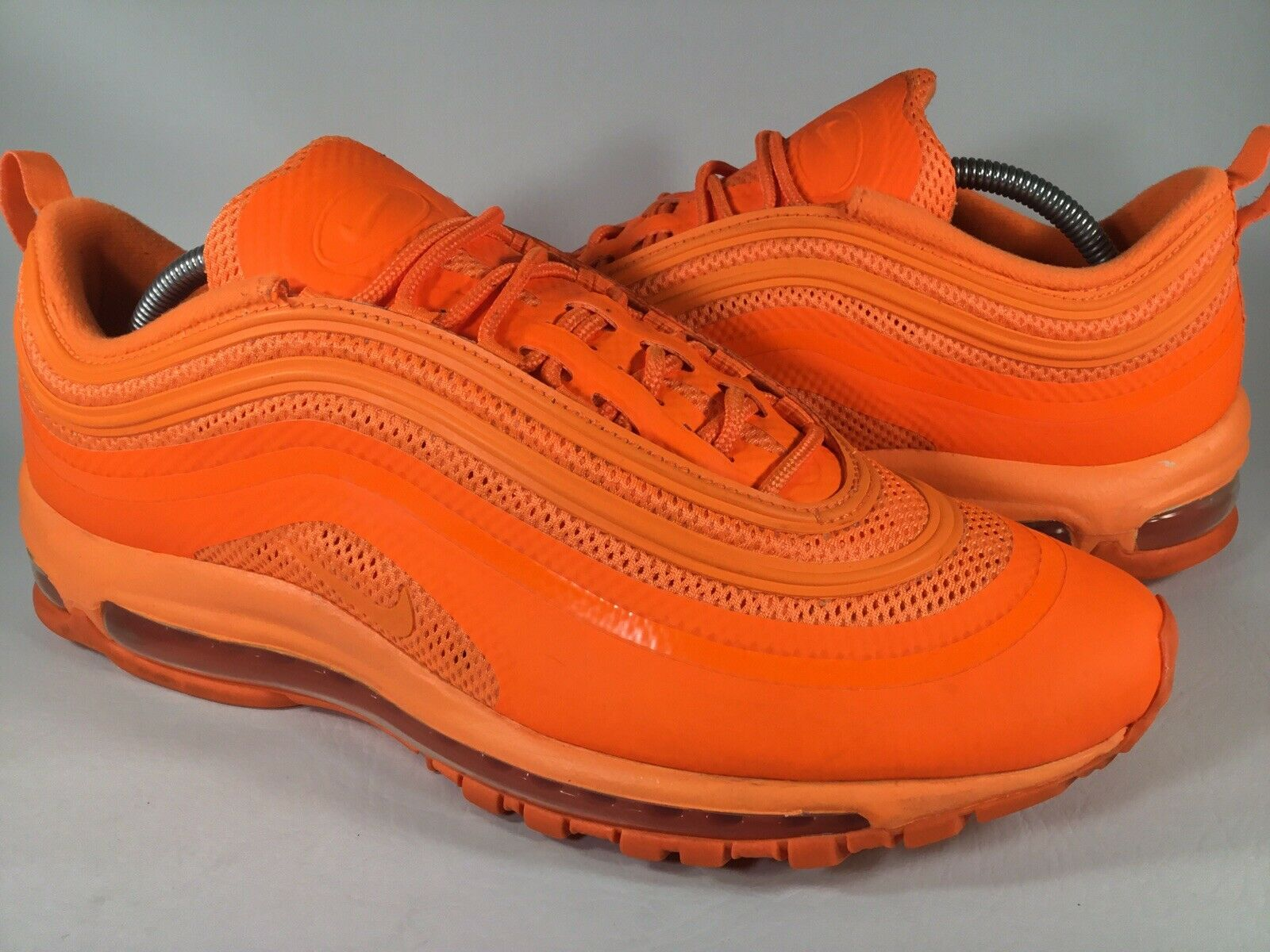Nike Air Max 97 Hyperfuse Total Orange Homme Taille 11 RARE 518160-880 Running