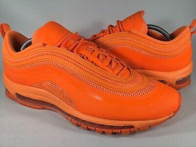 Nike Air Max 97 Hyperfuse Total Orange Mens Size 11 Rare 518160 880 Running 886551280173 | eBay