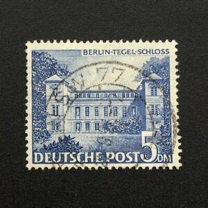 Timbre-BERLIN-Yvert-et-Tellier-n-46-Obl-Lot-B-Cyn37-Stamp