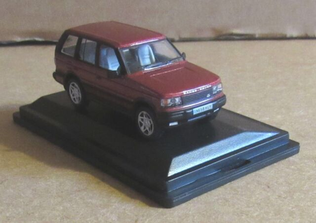5dd2d506c9cc OXFORD DIECAST RANGE ROVER P38 RIOJA RED 1 76 SCALE MODEL CAR LUXURY VEHICLE