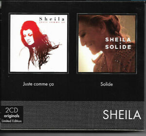 Cd - Coffret 2 cd Sheila Juste comme ca - Solide