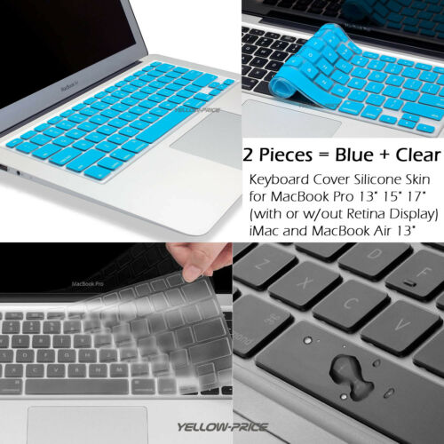 Washable AntiDirt Keyboard Cover Skin for Mac11.6inch Macbook Air A1370 A1465