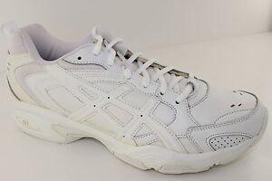 Asics Gel TRX White Leather Womens