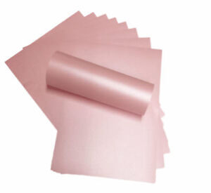 50-A4-PETALS-PINK-PAPER-PEREGRINA-MAJESTIC-PEARLISED-SHIMMER-BOTH-SIDES-120SM