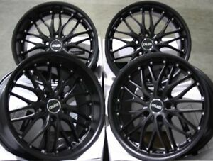 ALLOY-WHEELS-X-4-18-034-M-BLACK-CRUIZE-190-FOR-AUDI-A4-A5-A6-A7-A8-Q3-Q5-Q7-COUPE