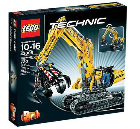 NEW  SEALED  LEGO Technic Excavator (42006) Retired, Hard to find