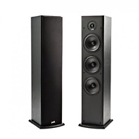 Speaker Home Theater Media Music Audio Sound Stereo Black Floor Tower Standing