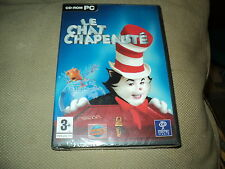 """JEU PC NEUF """"LE CHAT CHAPEAUTE"""" Edition Francaise"""