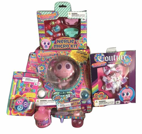 Distroller Beginners Bundle Baby Fidgets+Food+Micro Kit+cloth Free USA Shipping!