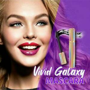 Fibra-de-Seda-4D-vividas-Galaxy-Mascara-Pestanas-Rimel-Impermeable-Grueso-alargamiento