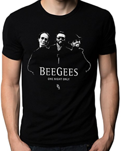 fedaf5b477ac6 Details about Bee Gees Band One Night Only Logo Men's Tee T-Shirt