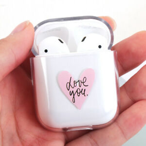 Transparent-For-Apple-Airpods-2-1-Protective-Cover-Earphones-Case-Hard-PC