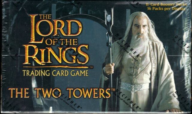 Bloodlines Booster Box factory sealed 36 packs LOTR Lord of The Rings TCG