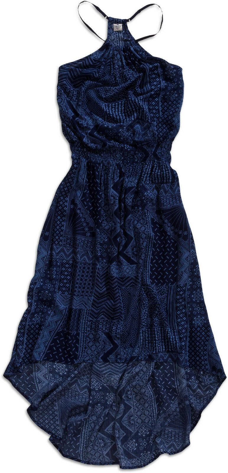 Time Out Los Angeles Damen Sommerkleid, Maxikleid mit dünnen Trägern