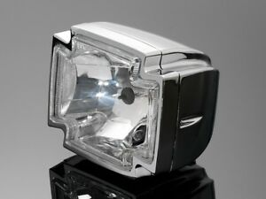 CHROME-GOTHIC-CROSS-HEADLIGHT-Motorcycle-Chopper-Bobber-Harley-Custom-68-223070