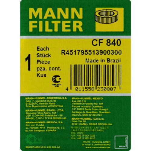 Original Homme-filtre secondaire Filtre à air CF 840