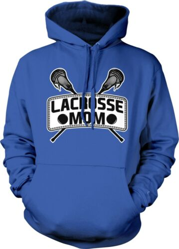 Lacrosse Mom Sticks Mother Parent Team Supporter Son Daughter Hoodie Pullover