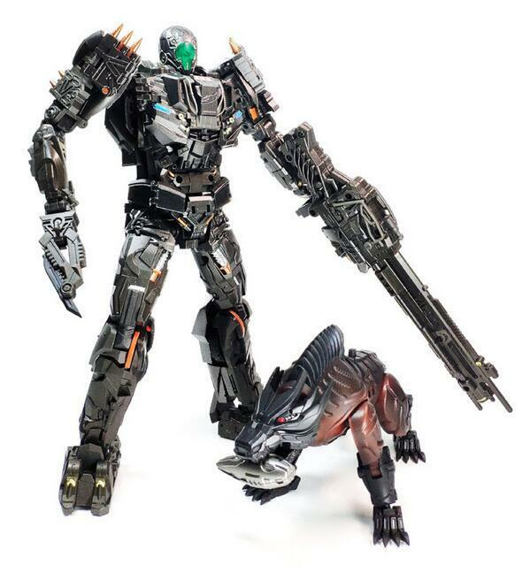 Transformers Transformers Transformers BSL TOYS BSL-01 MP Alloy Peru Kill With Hunting Dog Robot Set New 6d6def