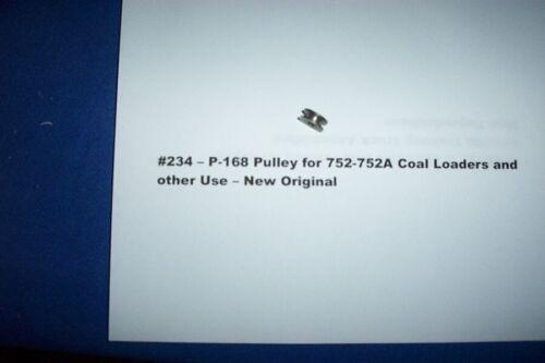 P-168 Accessory Pulley #287 American Flyer Original Parts