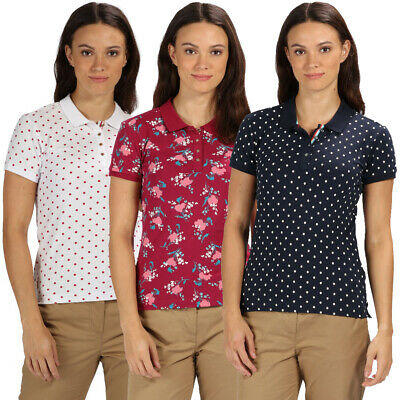 Regatta Great Outdoors Womens//Ladies Jenna Checked Short Sleeve Shirt RG1535