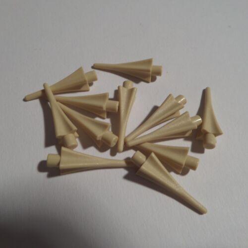11057 12 x Speerspitze Spitze Speer Waffe 24482 Beige LEGO Harry Potter NEU