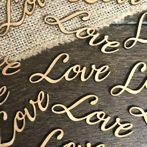 Personalised-LOVE-WORD-Rustic-OAK-Wooden-Wedding-Table-Wood-Confetti-Scatter