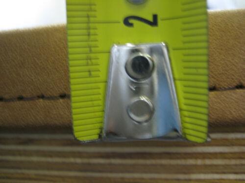 Gewinkelte Schreibtischunterlage Leder 65x45 cm-Glattleder DAYTONA in 24 Farben