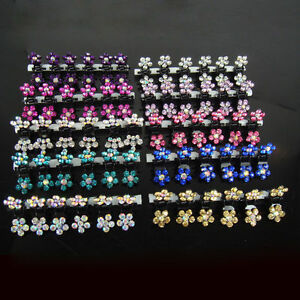 18Pcs-Crystal-Flower-Mini-Hair-Claw-Clamp-Hair-Clip-Hair-Pins-Hair-Accessory