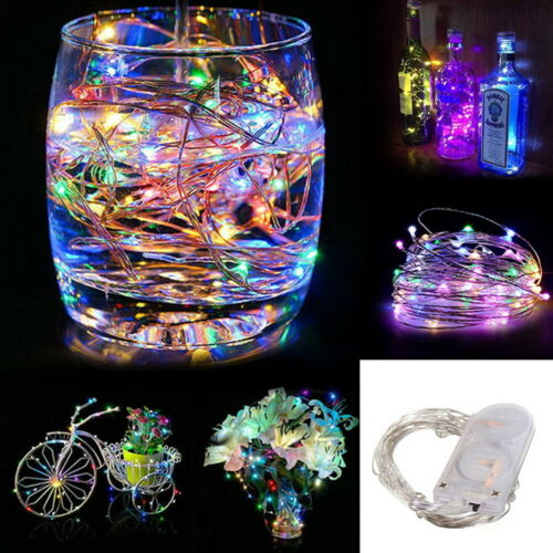 20 LED String Lights Silver Wire Fairy lights Night Light Xmas Decoration Lamp