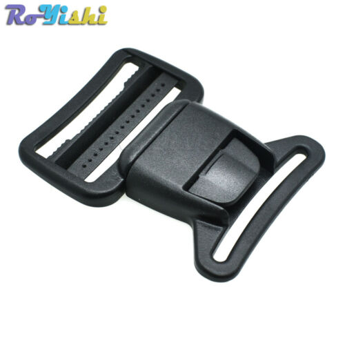 36mm Webbing Plastic Center Release Buckle for Hiking Camping Bags