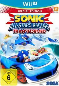 Nintendo Wii U Sonic All Stars Racing Transformed Top Zustand