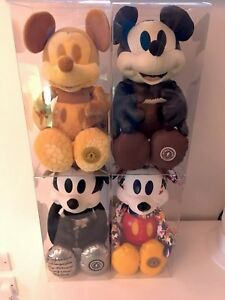 1x Box Display or Store Mickey Mouse Memories Plush August, September, October