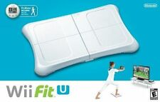 Wii Fit U [Bundle] w/ Balance Board Fit Meter (Nintendo Wii U, 2014) Brand New!