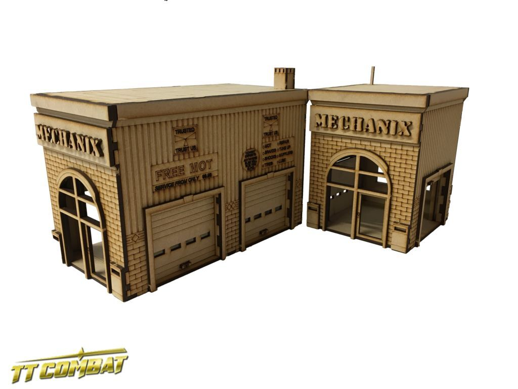 Ttcombat (dcs059) mechanix garage, batman ideal f  r batman garage, f6526f