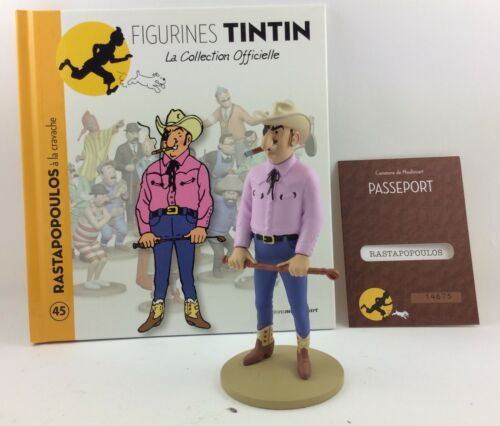Official Collection Figurine Tintin Moulinsart 45 Rastapopoulos to the Whip