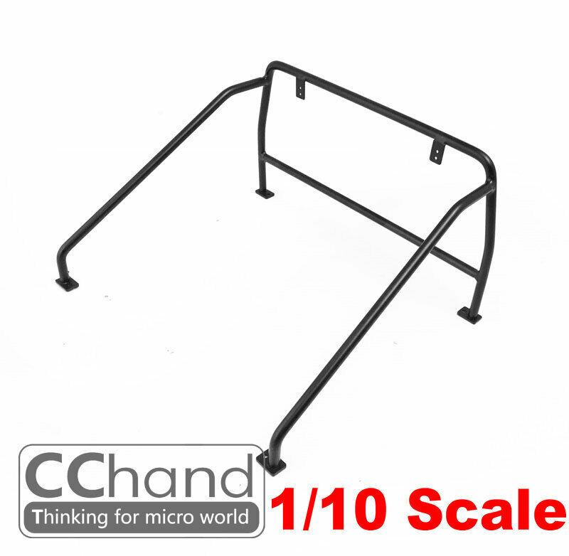 CC He Metal rear bed Roll Bar   for  RC4WD 1 10 Chevrolet Blazer  NO LIGHT  consegna gratuita e veloce disponibile