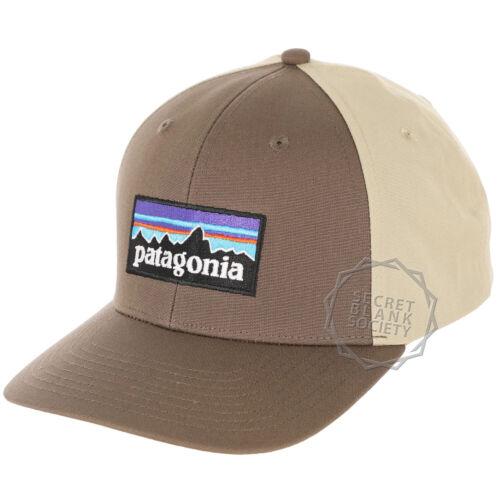 PatagoniaMens P-6 Logo Roger That Hat Baseball CapBurnie Brown