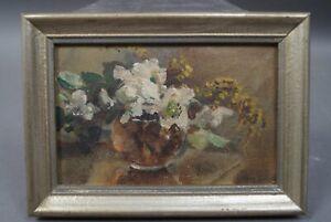Anna-Peters-1843-1926-Kleiner-Blumenstrauss-in-Vase-handsigniert