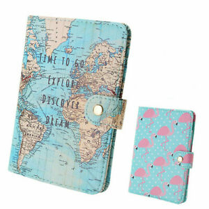 PU-Passport-Holder-Travel-Cartoon-ID-Card-Case-Protector-Organizer-Cover-Wallet