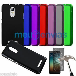 Funda-PROTECTOR-CRISTAL-XIAOMI-REDMI-NOTE-3-GEL-TPU-LISA-MATE-Colores-Varios