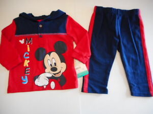 Mickey Mouse Baby Boy Pants Baby & Toddler Clothing Newborn