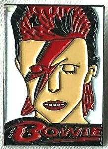 CD Album Cover Necklace And Keyring David Bowie Aladdin Sane