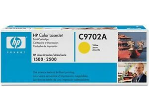 Genuine-HP-C9702A-yellow-toner-for-1500-2500-Factory-Sealed