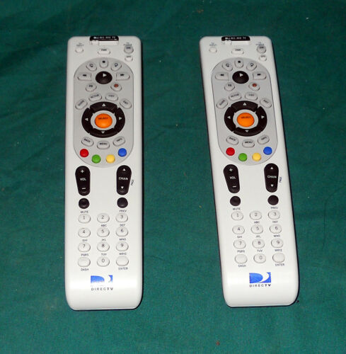 LOT 2 Tested Used DIRECTV RF Remote Control RC66RX RC65RX D10 D11 H HR AT/&T