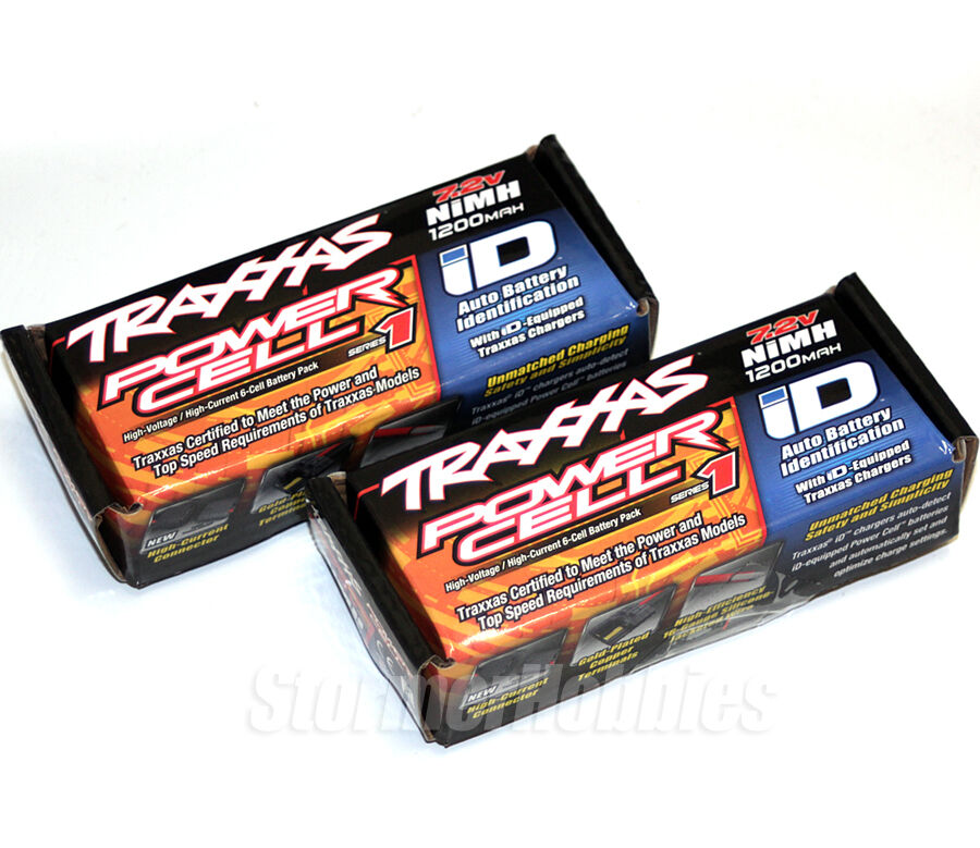 NEW Traxxas 1//16 E-Revo Slash Summit Teton 1200mah Nimh Battery Pack 2