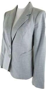 The-Limited-Women-039-s-Size-6-Light-Grey-Blazer-Jacket-Career-Office-Wear-NWT-158
