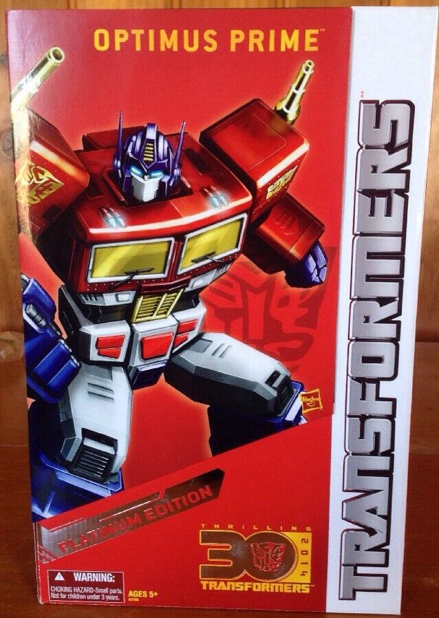 Transformers Platinum Edition Year of the Horse 2014 Optimus Prime New MISB