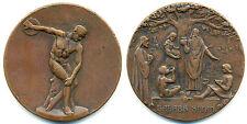 Senin, Grosse Bronze-Medaille o. J. Diskobolos v. Myron